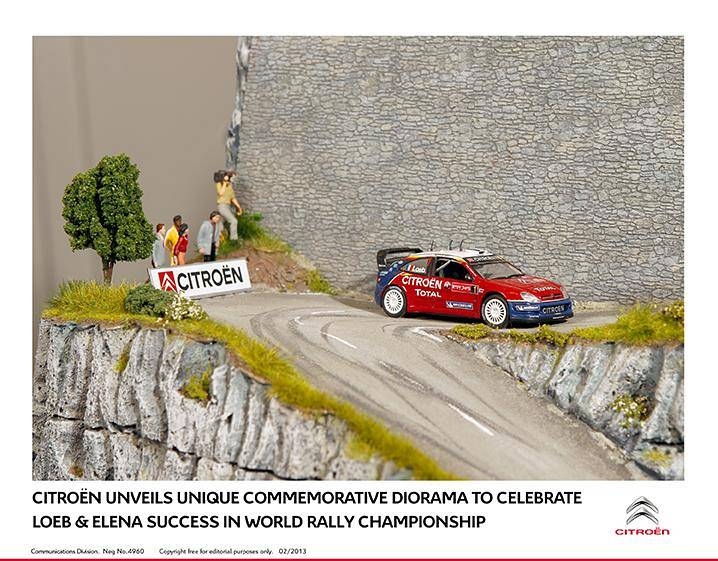 Commemorative Citroen Diorama